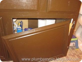 vanity door hanging