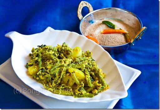 pui shak chorchori recipe for chicken