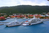 Super Yachts In Port - St. Thomas, USVI