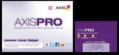 Paket Internet Unlimited AxisPro