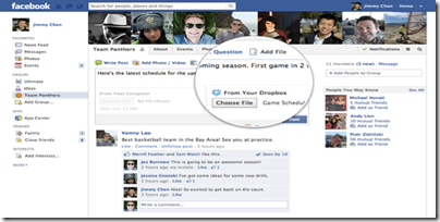 dropbox dosyalarını-facebookda-paylas