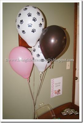 Dog Birthday Party for Girls