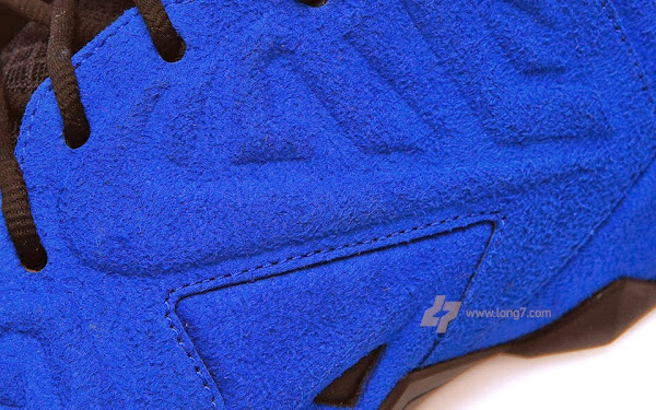 Nike LeBron XI 11 EXT Blue Suede Detailed Pictures