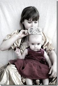 Lisa nästan 7 månader o svensk prinsessan e född! 050
