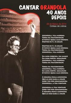 oclarinet.blogspot.com - Cantar Grândola 40 anos depois. Coliseu Lisboa. Mar.2014