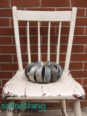 Canning Lid Pumpkin On Chair 1 WM