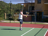 Steve showing his tennis form.jpg