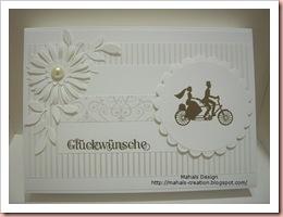 Hochzeitssetweißverpackung