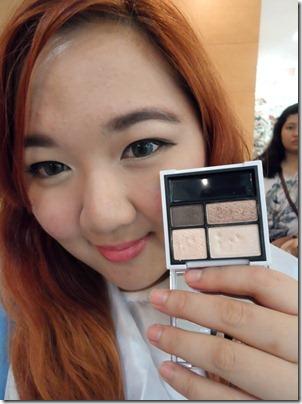 Priscilla Laneige Beautiful Blogger Challenge Eyeshadow