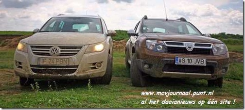 Dacia Duster vs VW Tiguan 02
