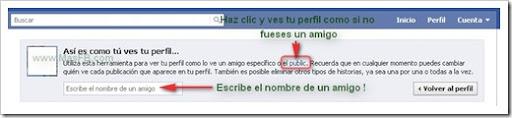 Previsualizar perfil Facebook