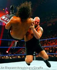 Bigshow thrashes Khali