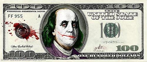 notas cédulas dollar geek nerd zoada desbaratinando  (6)