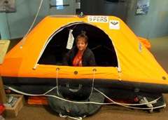 1306095 Jun 06 Barb In A Life Raft