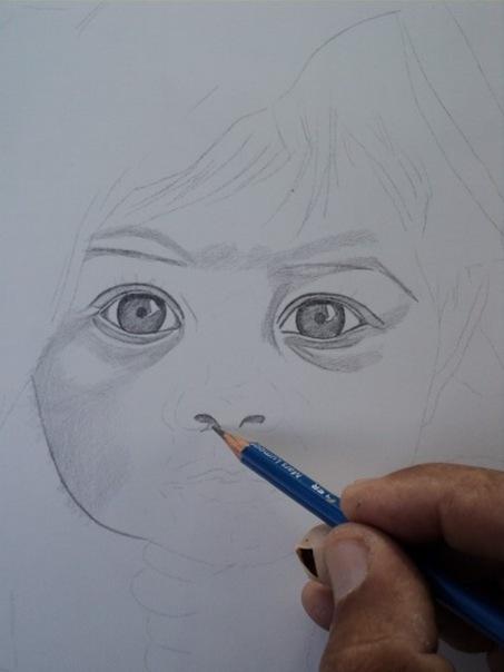 desenho de crianças a lápis 3