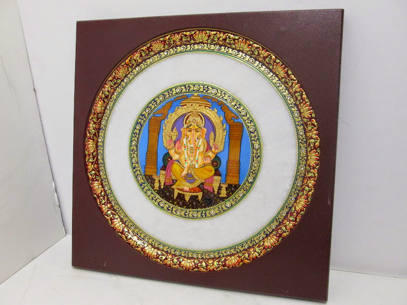 Ganesha Decorative Plate