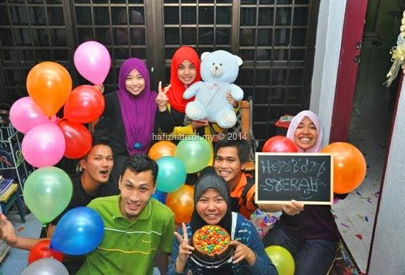 Surprise Birthday Tak Menjadi