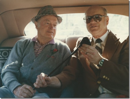 Gordon and Bob Hope