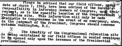 Hoover 1961 Statement
