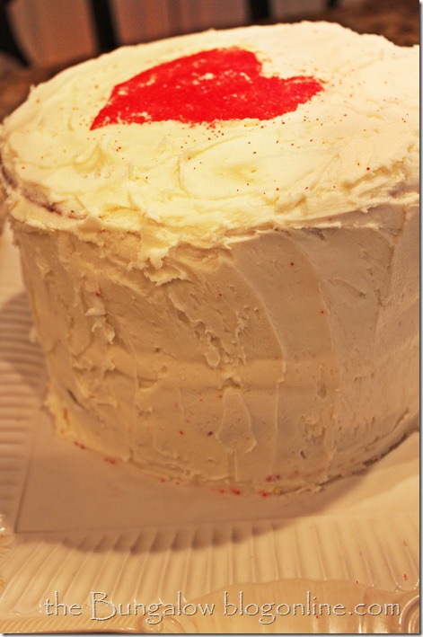valentine heart cake3