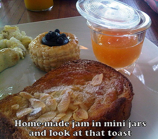 W Hotel Singapore Breakfast Jam