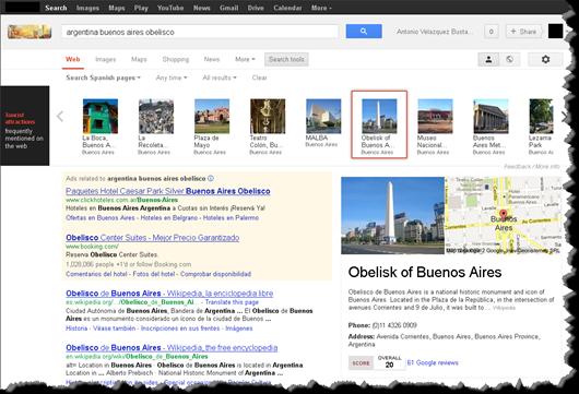 Puntos de Atracción con Google