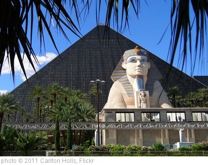 'Luxor Las Vegas' photo (c) 2011, Carlton Holls - license: