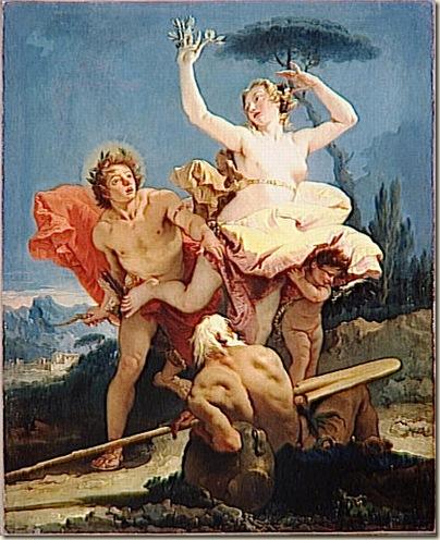 Tiepolo, Dapnnée et Apollon