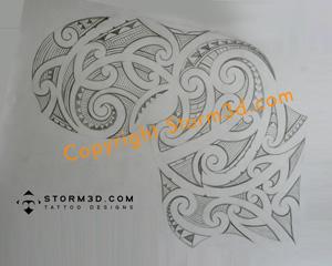 Maori Tattoo Design Drawings