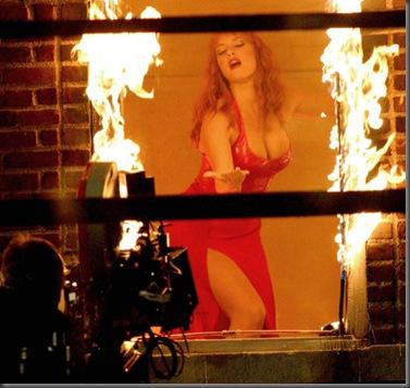 """Kate Winslet sur le tournage de """"Romance & Cigarettes"""".     Winslet Kate"""