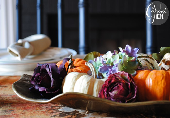 A DIY Thanksgiving Table Setting | www.thegatheredhome.com