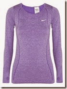 Nike Dri Fit Stretch Jersey Top