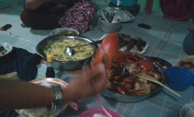 Handil Kalimantan Timur - Perjalanan Makan Kepiting