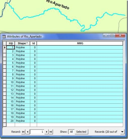 F7. rio dividido