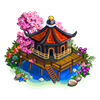 zen tea house buildable