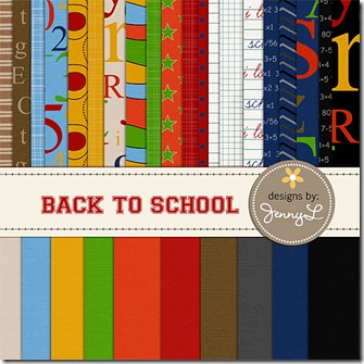 Back to School digi kit