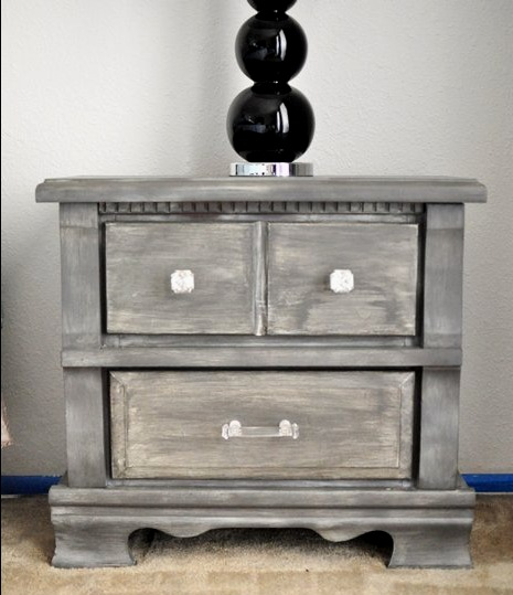 How to achieve a Restoration Hardware finish with spray paint and paint via monicawantsit.com Save yourself thousands of dollars and get the look for less.
