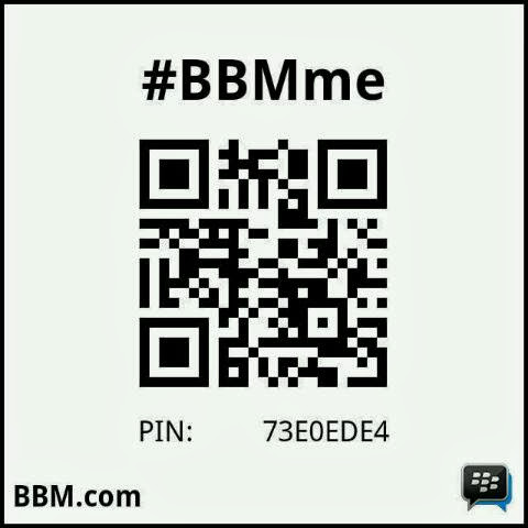 BBM pin jasfora made in dhewe