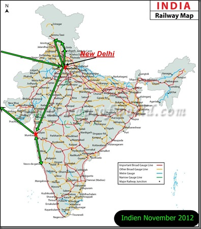 Indian-Railways nov 2012 New Delhi