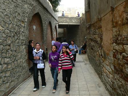 Cartierul crestin din Cairo Egipt