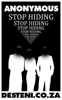 STOP HIDING behind Anonymity Equal Money