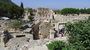 Ephesus Library Overlook