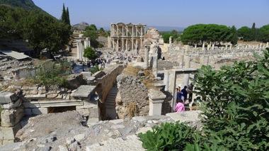 Ephesus Library Overlook