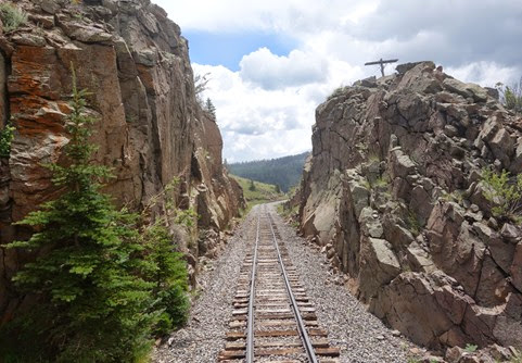 Cumbres and Toltec Scenic Railroad Antonito CO to Chama NM (154)