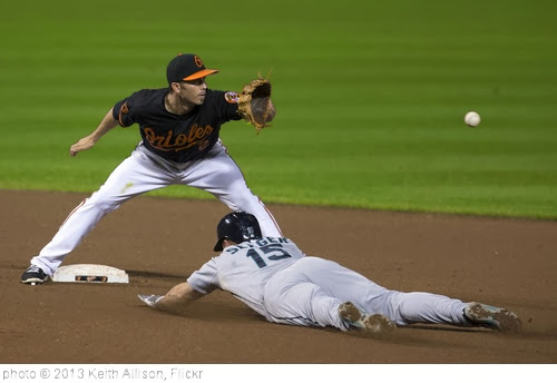 'J.J. Hardy, Kyle Seager' photo (c) 2013, Keith Allison - license: http://creativecommons.org/licenses/by-sa/2.0/