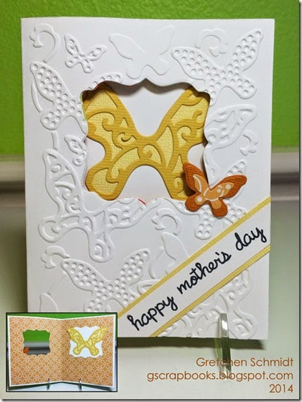 Happy Mother's Day card by @gscrapbooks