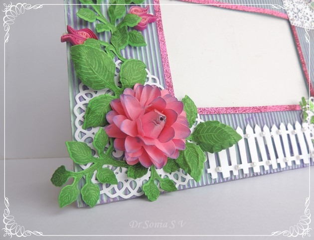 Quilled Photoframe  3