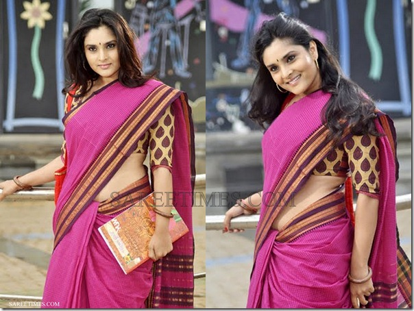 Divya_Spandana_Cotton_Saree