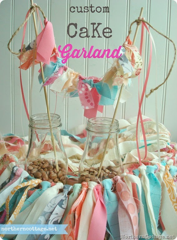 Cake Garland {Northern Cottage}