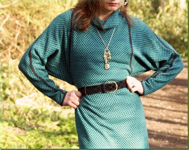 Vintage batwing dress